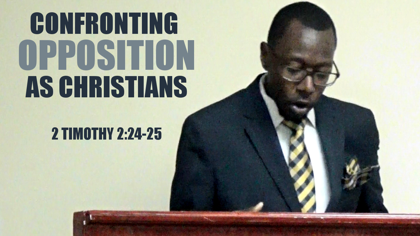Confronting Opposition As Christians Thumb