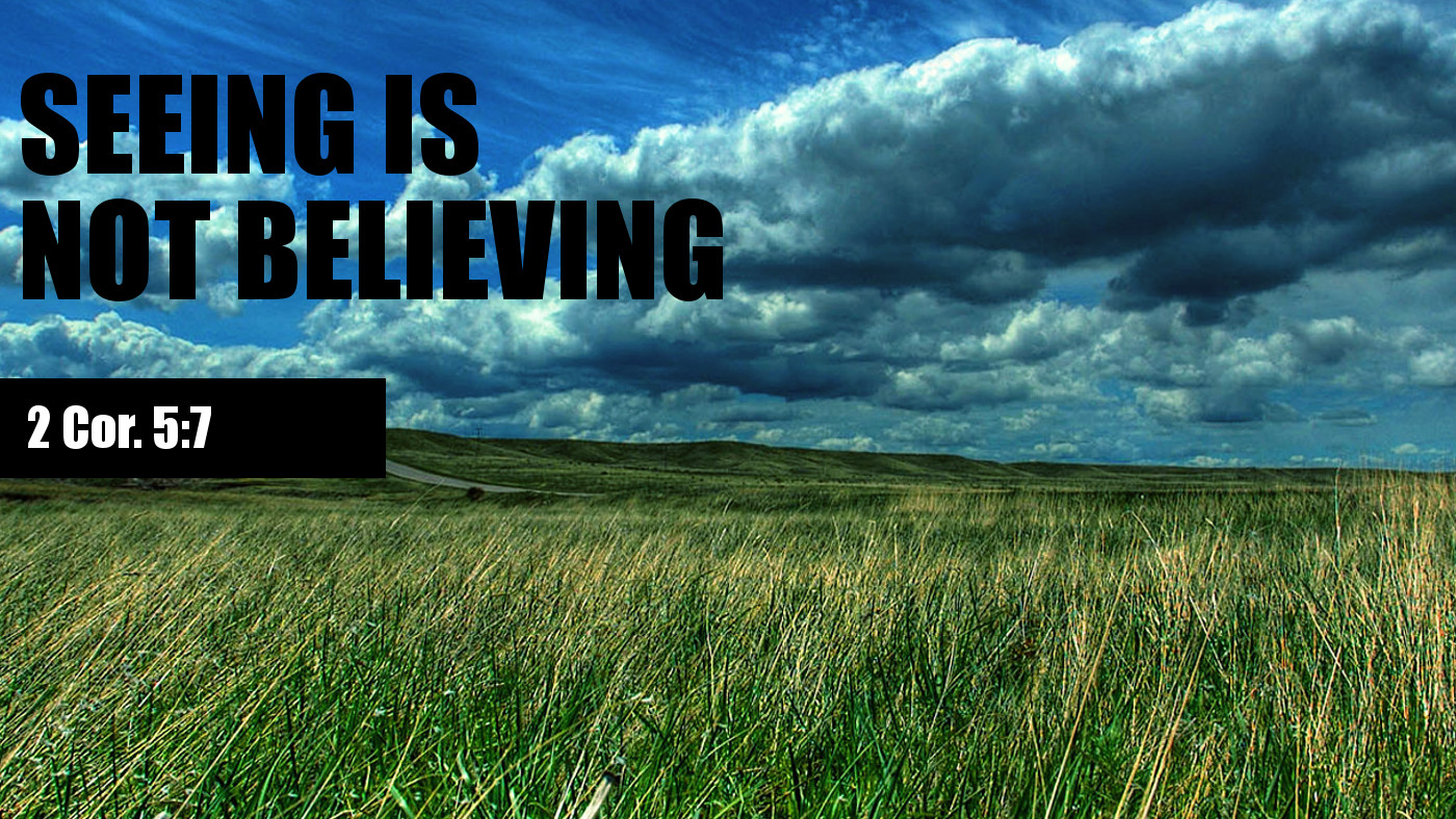 See is believing feautred image