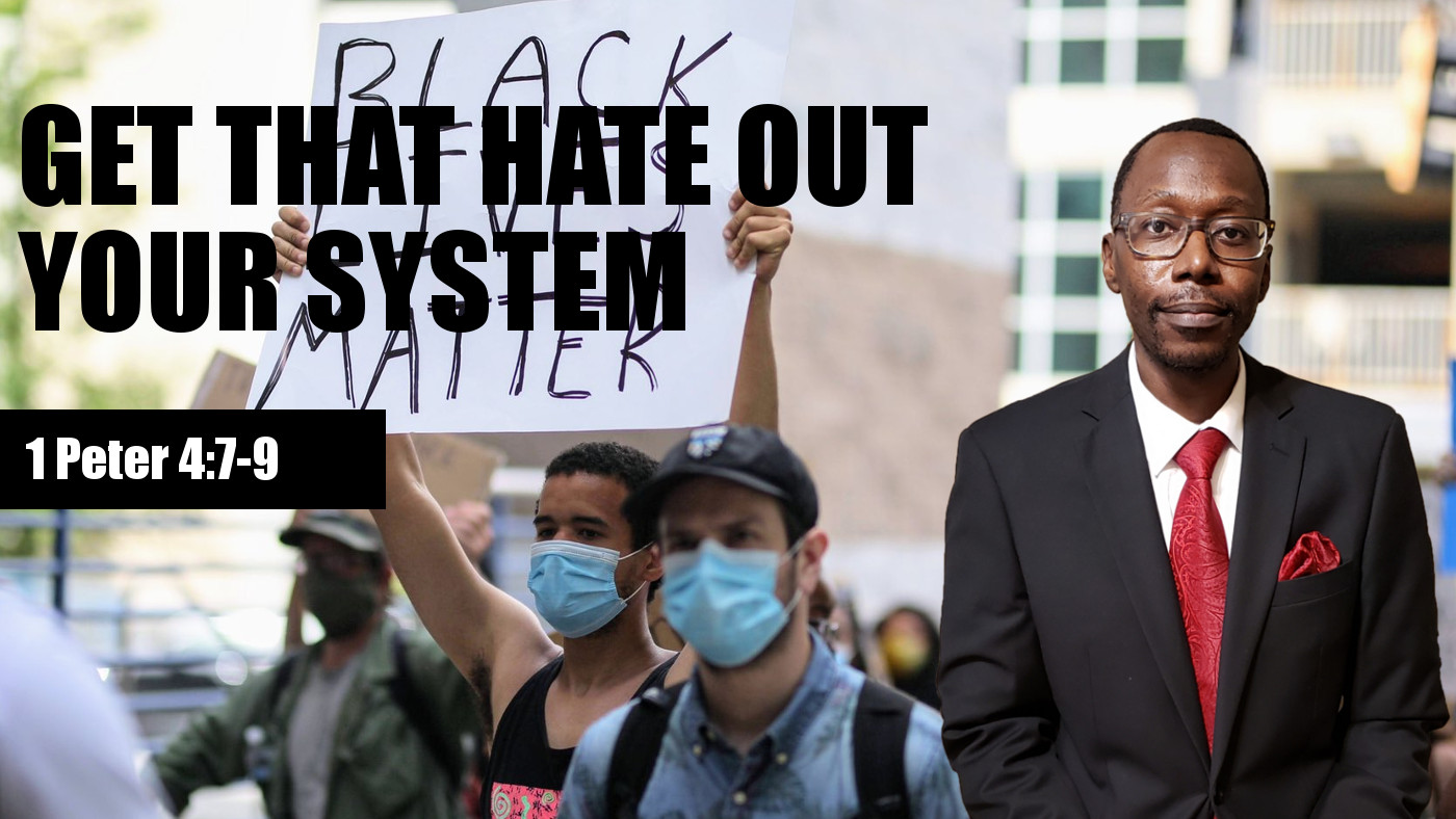 Get that hate out your system banner