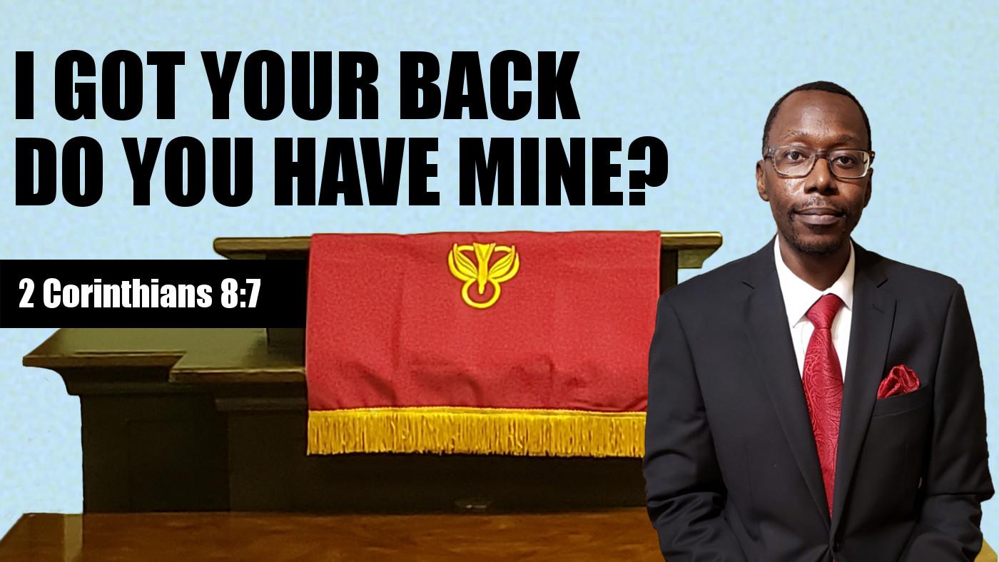 I Got Your Back Banner