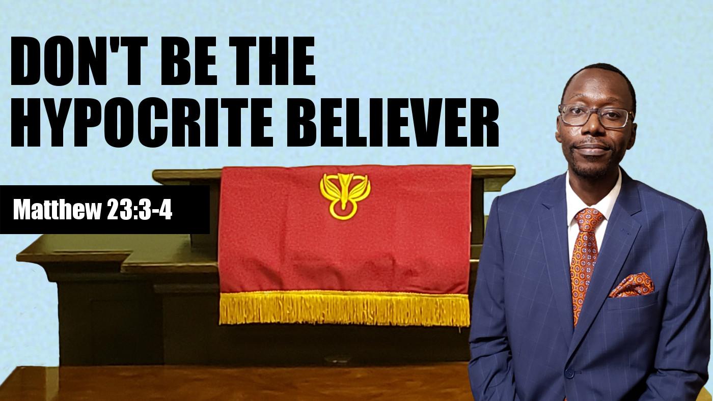 The Hypocrite Believer Banner