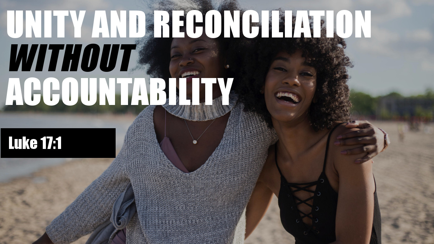 Unity Without Accountability Banner