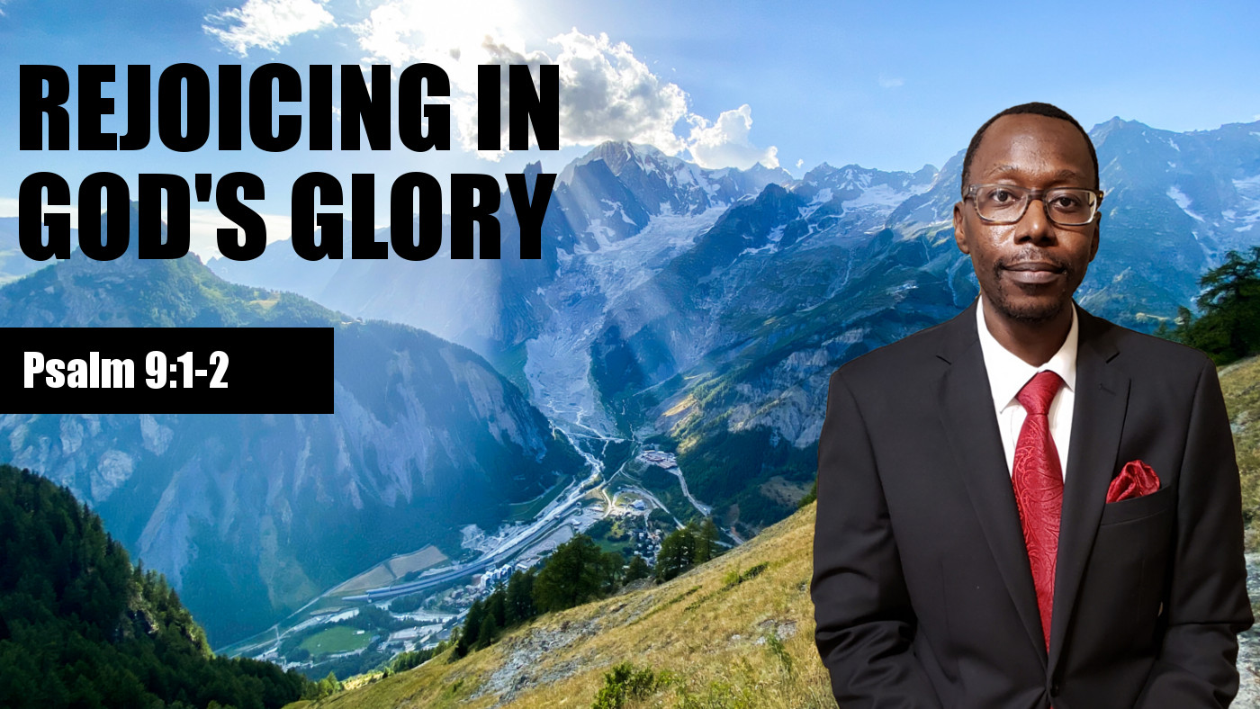 Rejoicing in God's Glory Banner
