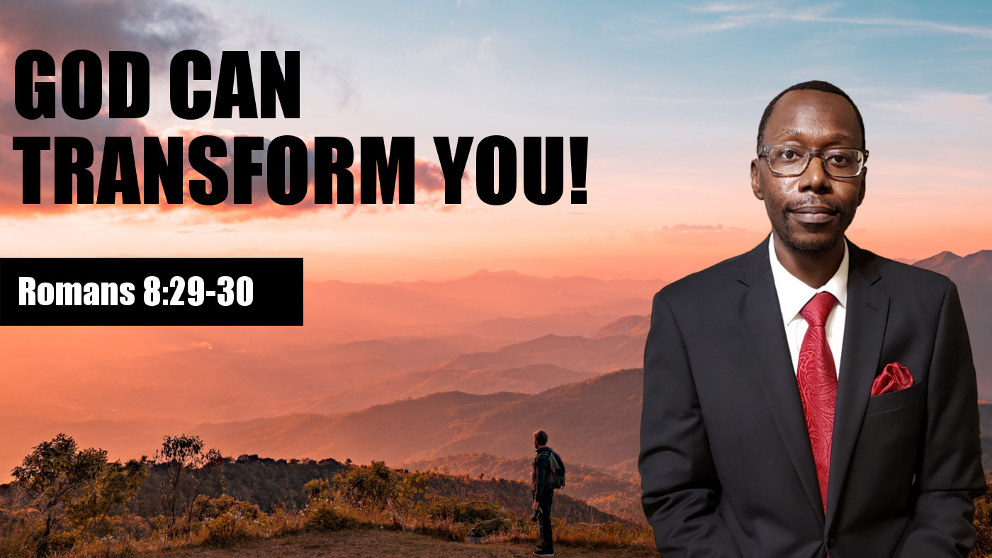 God Can Transform You Banner