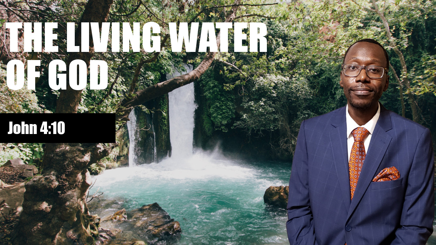 Living Water of God Banner
