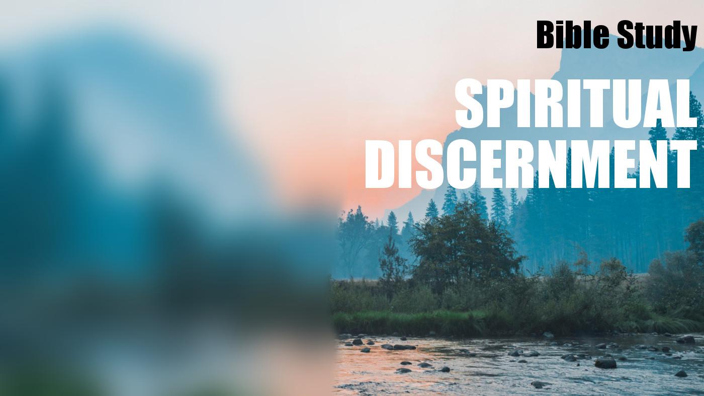 Spiritual Discernment Study Banner