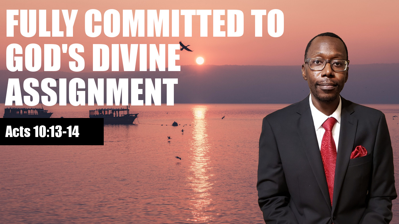Commited to God's Divine Assignment Banner