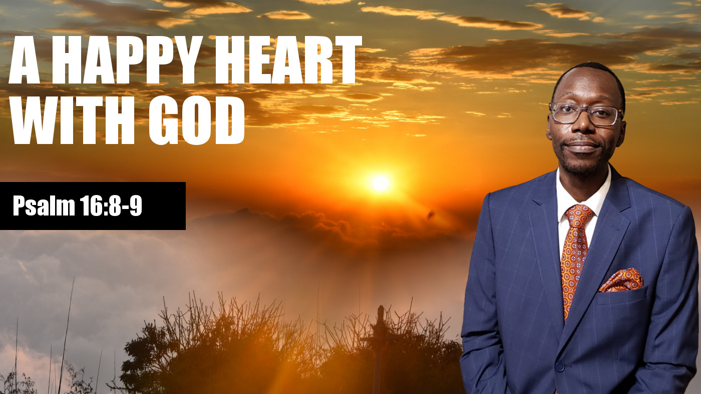 Happy Heart With God Banner