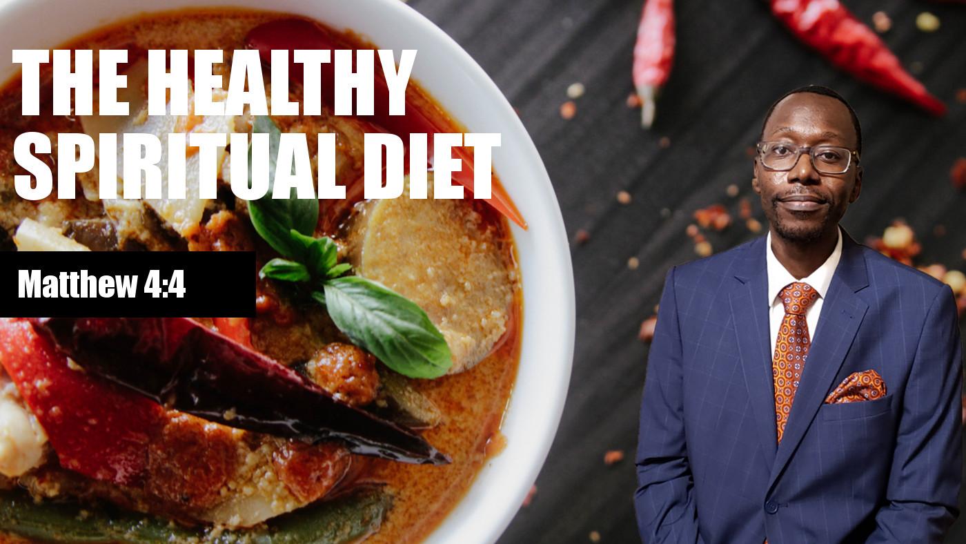 Healthy Spiritual Diet Banner