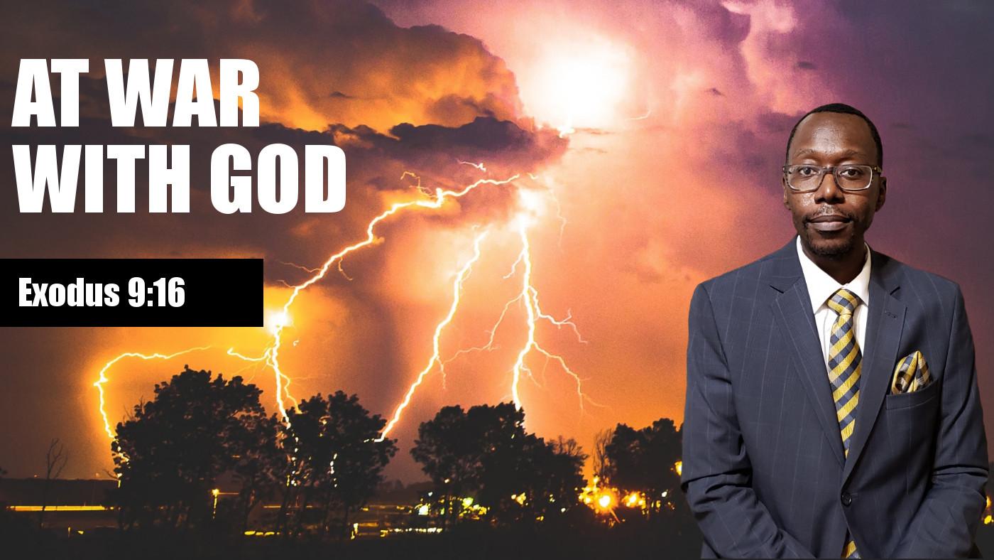War With God Banner